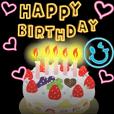 LINEスタンプランキング(StampDB) | 動く!誕生日&ありがとう バラエティパック