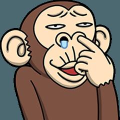 LINEスタンプランキング(StampDB) | イラッと動く★お猿さん