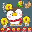 LINEスタンプランキング(StampDB) | 主役はヒヨコのぴっぴ!【冬イベント酉】