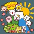 LINEスタンプランキング(StampDB) | みんな大集合!年賀状スタンプ【豪華版】