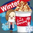 LINEスタンプランキング(StampDB) | 【冬&お正月】大人が使える日常スタンプ2