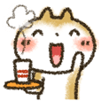 LINEスタンプランキング(StampDB) | ラフ画風「まるちゃん」