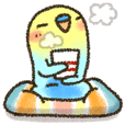 LINEスタンプランキング(StampDB) | 優しいタッチの「インコちゃん」