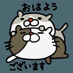 LINEスタンプランキング(StampDB) | ねこスタンプ べいしっく2