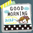 LINEスタンプランキング(StampDB) | シンプルな付箋がかわいい日常会話?