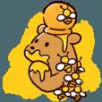 LINEスタンプランキング(StampDB) | くまぱら4コマ 「ハッピー!くまちー」