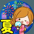 LINEスタンプランキング(StampDB) | 大人かわいい夏・ゆるめハイテンション☆