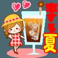 LINEスタンプランキング(StampDB) | 恋する夏のスタンプ?【初夏?残暑】