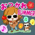 LINEスタンプランキング(StampDB) | 暑い夏も楽しいスタンプ♪【真夏~残暑】