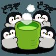 LINEスタンプランキング(StampDB) | 心くばりペンギン