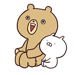 LINEスタンプランキング(StampDB) | ぬいぐるみくまさん、うさまるを添えて2