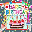 LINEスタンプランキング(StampDB) | 動く♪お誕生日?お祝いコレクション