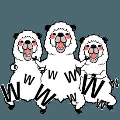 LINEスタンプランキング(StampDB) | 笑うアルパカ3