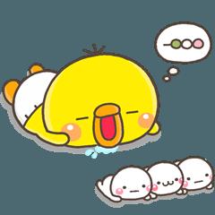 LINEスタンプランキング(StampDB)   ひよこのぴっぴ【きほん】