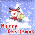 LINEスタンプランキング(StampDB) | 動く♪エンジョイ クリスマス!