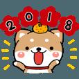 LINEスタンプランキング(StampDB) | 無難な戌年の年賀スタンプです。【2018】