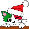 LINEスタンプランキング(StampDB) | イタリア語ろにゃんこのクリスマス