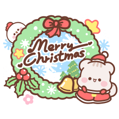 LINEスタンプランキング(StampDB) | Sweet House - Happy Christmas