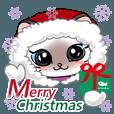 LINEスタンプランキング(StampDB) | シャム猫ちゃん! クリスマスバージョン♪
