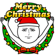 LINEスタンプランキング(StampDB)   真顔の年末年始(クリスマス・正月)