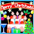 LINEスタンプランキング(StampDB) | 動く☆大人のクリスマスパーティー☆