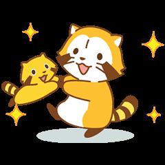 Happy☆ラスカル アニメス... | StampDB - LINEスタンプランキング