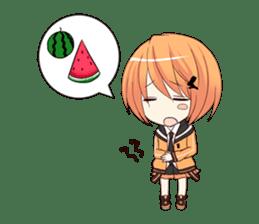 powan chan sticker #58551
