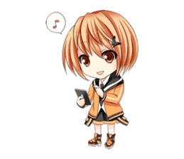 powan chan sticker #58571