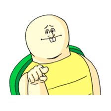 Jigoku no Misawa The Hare & the Tortoise sticker #60387