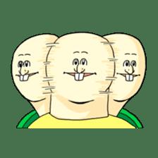 Jigoku no Misawa The Hare & the Tortoise sticker #60390