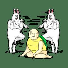 Jigoku no Misawa The Hare & the Tortoise sticker #60394