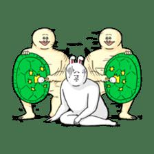 Jigoku no Misawa The Hare & the Tortoise sticker #60395