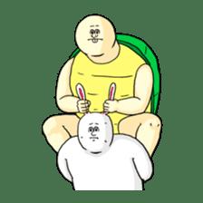 Jigoku no Misawa The Hare & the Tortoise sticker #60397