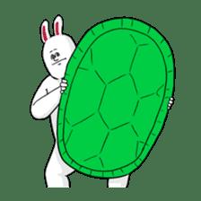 Jigoku no Misawa The Hare & the Tortoise sticker #60401