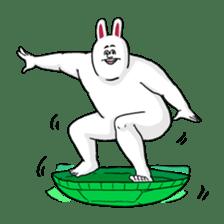 Jigoku no Misawa The Hare & the Tortoise sticker #60404