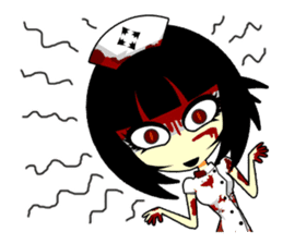 Bloody Nurses's Nightmare English Ver.1 sticker #62694