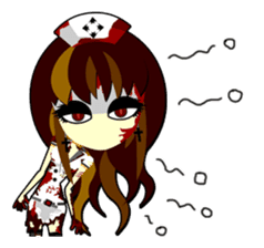 Bloody Nurses's Nightmare English Ver.1 sticker #62701