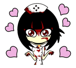 Bloody Nurses's Nightmare English Ver.1 sticker #62702
