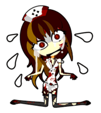 Bloody Nurses's Nightmare English Ver.1 sticker #62707