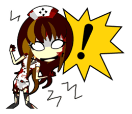 Bloody Nurses's Nightmare English Ver.1 sticker #62711