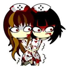Bloody Nurses's Nightmare English Ver.1 sticker #62712