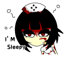 Bloody Nurses's Nightmare English Ver.1 sticker #62721