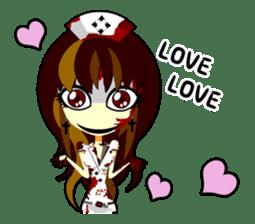 Bloody Nurses's Nightmare English Ver.1 sticker #62722