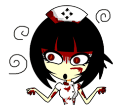 Bloody Nurses's Nightmare English Ver.1 sticker #62725