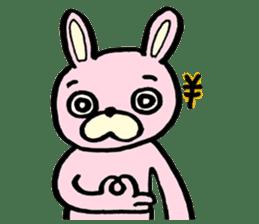 MOMOIRO USAHI's stamp sticker #87679