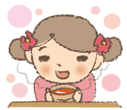 """""""Nagomi-chan"""" Stamp Appearance!! sticker #118738"""