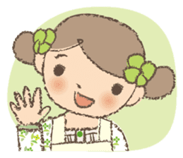 """Nagomi-chan"" Stamp Appearance!! sticker #118742"