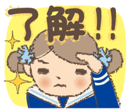 """""""Nagomi-chan"""" Stamp Appearance!! sticker #118744"""