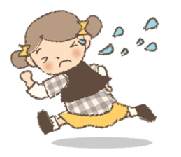 """""""Nagomi-chan"""" Stamp Appearance!! sticker #118750"""