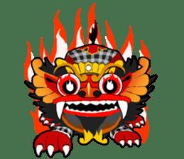 Balinese Barong sticker #140558